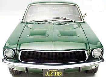 AUTOart Mustang model - Front View