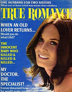 True Romance Magazine cover featuring Barbara