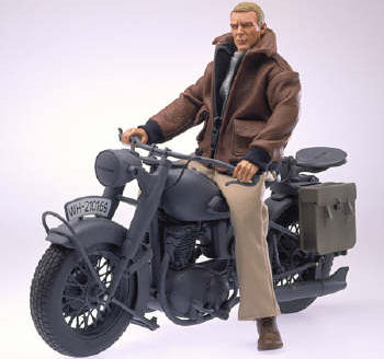 figurine of virgil hilts on bike