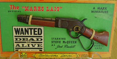 Mares Laig Rifle on Original Card Backing
