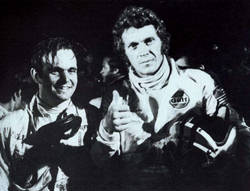 Peter Revson and Steve McQueen
