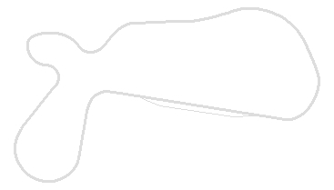 Map of the 2.5 mile Willow Springs road circuit